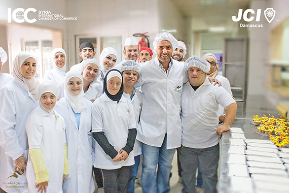 Happy active syndrome team teamed up with the family of Diwan AlMuhanna kitchen