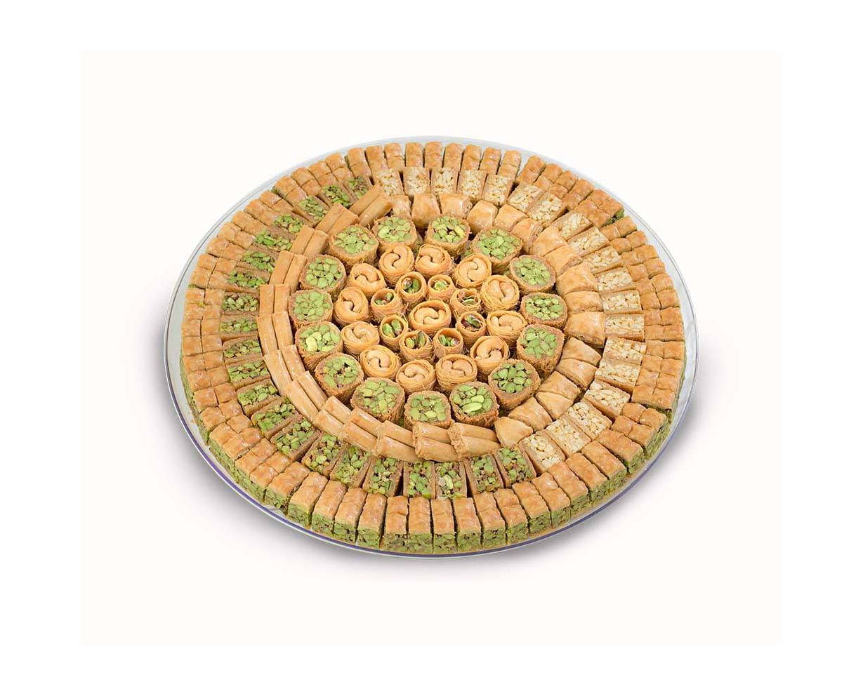 DM Assorted Baklava Tray 3000g